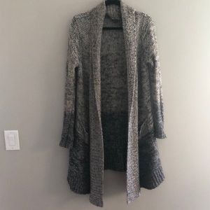Splendid maternity oversized gradient cardigan
